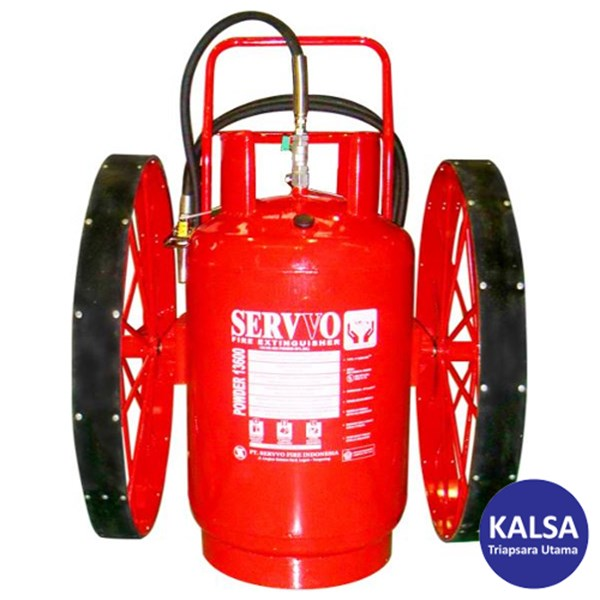 Servvo P 16000 ABC 90 Big Wheeled ABC Dry Chemical Powder Fire Extinguisher
