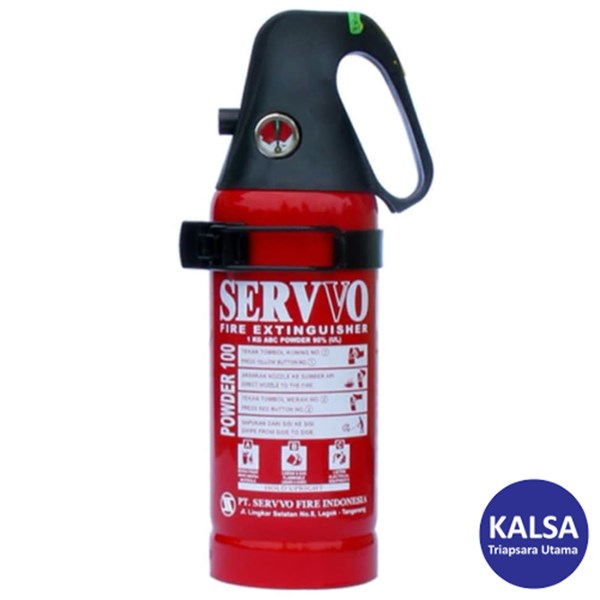 Servvo P 100 SA VE-EX ABC Dry Chemical Powder Fire Extinguisher