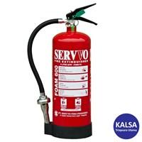 Servvo F 600 AF3 AB Portable Foam AFFF 6% Fire Extinguisher