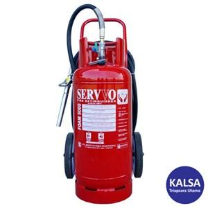 Dari Servvo F 6000 AF3 AB Trolley Foam AFFF 6% Fire Extinguisher 0