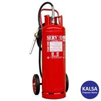 Servvo F 9000 AF3 AB Trolley Foam AFFF 6% Fire Extinguisher