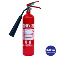 Servvo C 200 CO2 BC Portable Carbon Dioxide O2 Fire Extinguisher