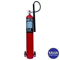 Servvo C 900 CO2 BC Trolley Carbon Dioxide O2 Fire Extinguisher