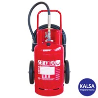 Servvo D 5000 FE-36 Trolley Clean Agent FE-36 Fire Extinguisher