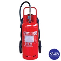 Servvo D 10000 FE-36 Trolley Clean Agent FE-36 Fire Extinguisher