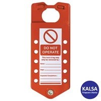 Matlock MTL-950-8300K Aluminium Lockout Label and Safety Hasp