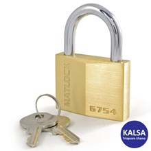 Matlock MTL-950-6754K Solid Brass Security Padlock