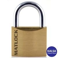 Matlock MTL-950-7980K Slimline Brass Security Padlock