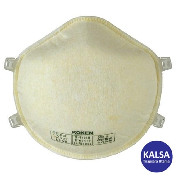 Koken Hi-Luck 650 Disposable Particulate Respiratory Protection