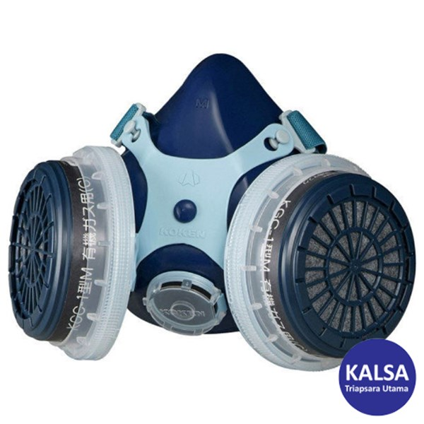 Koken RR-7 Chemical Cartridge Respiratory Protection