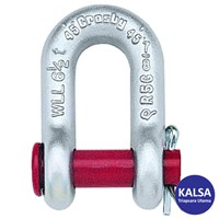 """Crosby S-215 1018909 Size 1/2"""" Round Pin Chain Shackle"""