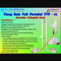 Tiang Bola Voli Portable TVP-01 1