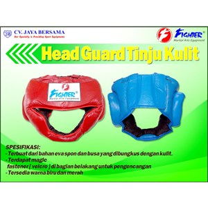 Head Gear Tinju Kulit