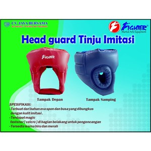 Head Gear Tinju Imitasi