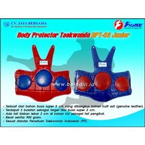 Body Protector Taekwondo Kulit BPT-03