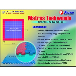 Matras Taekwondo TKD-25