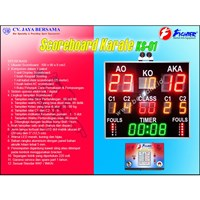 Scoreboard Karate KS-01