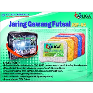 Jaring gawang Futsal JGF-04