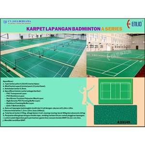 Karpet Badminton Enlio Seri A