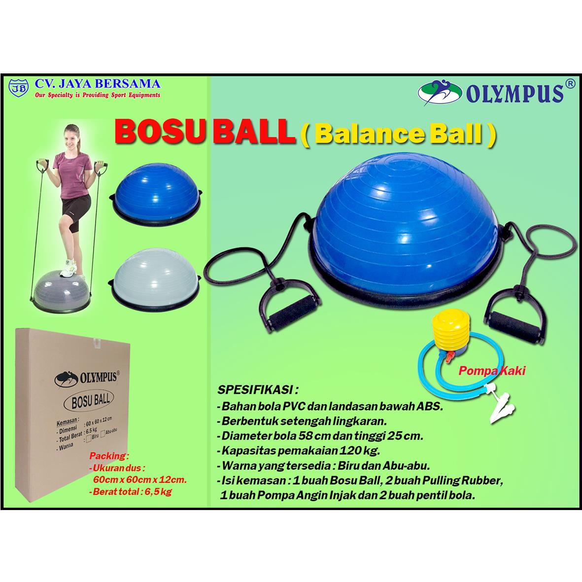 Sell Bosu Ball From Indonesia By Cv Jaya Bersamacheap Price Gym Fitness Bola Olahraga Senam Yoga Kesehatan