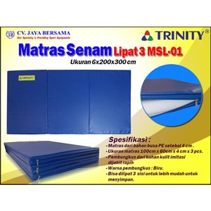 Matras Senam Lipat 3 6x200x300cm3