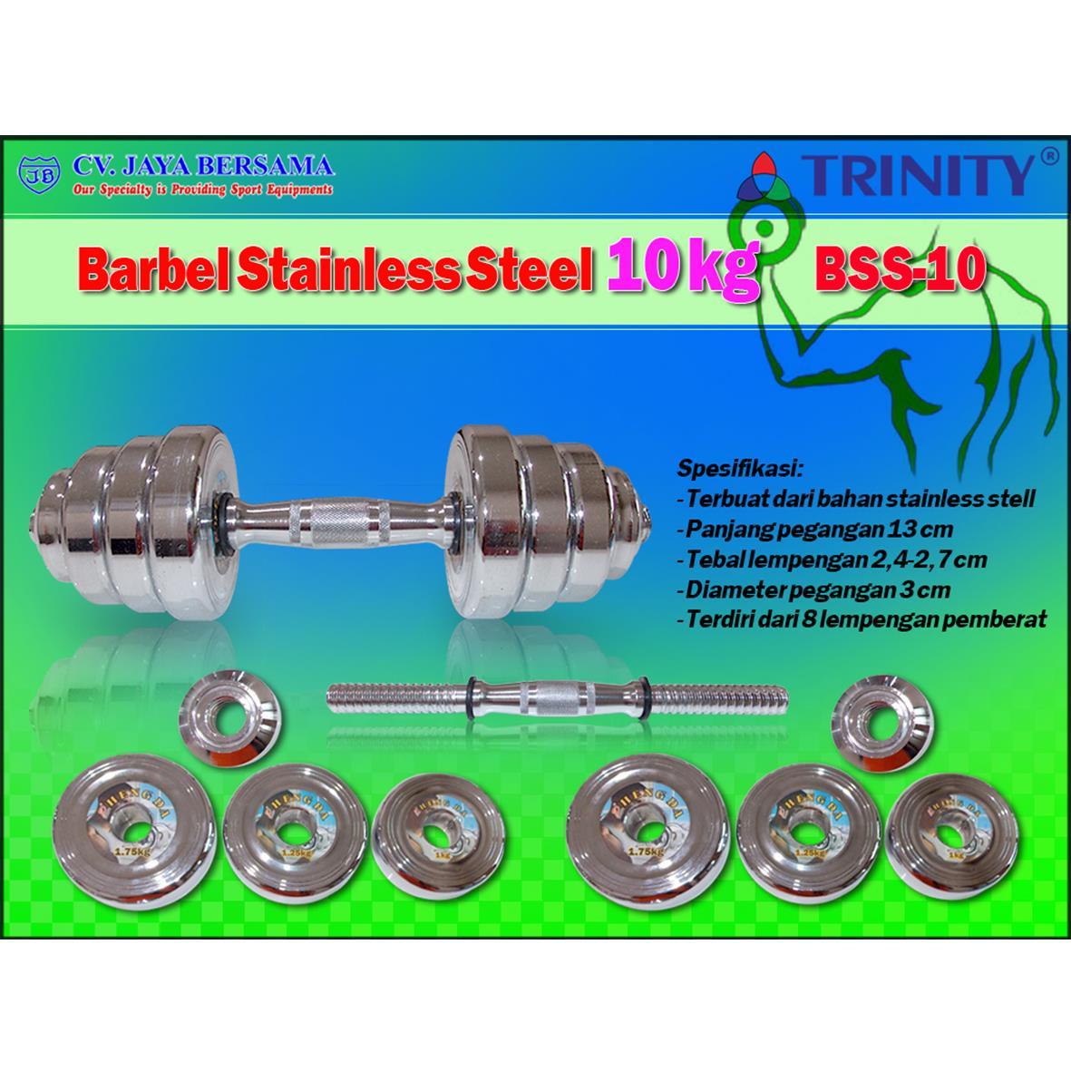Sell Barbel Stainless Steel 10kg Bss 10 From Indonesia By Cv Jaya Kg Bersamacheap Price