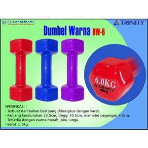 Dumbel Warna 6kg DW-6
