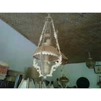 Lampu Gantung Kerajinan Bambu