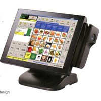 Jual Wpos Wearnes Ti 5851 I3 All In One Touch Screen POS Ready 2009 For Order Taker Set