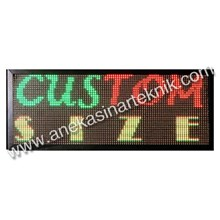 Running Text Led Display Signboard Warna