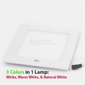 Hiled Panel 12W 3in1 Color - Square