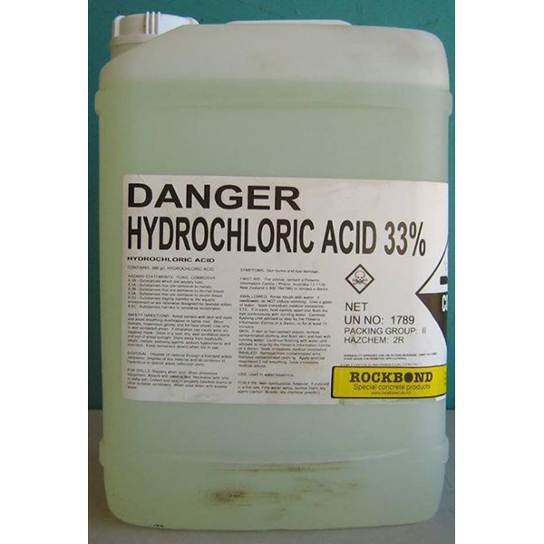 Hydrochloric acid is the chemical Nature of the core-PT-tambangemasindonesia