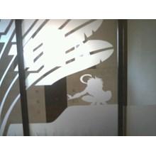 Stiker Kaca Interior