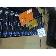 Modem Pool 16 Port USB Tombol Biru