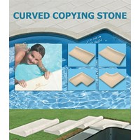 Curved Copiyng Stone