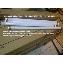 Lampu TL LED T8 20W Essensial Philips + Kap Balok TL LED