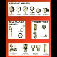 Jual Pressure and Temperature Instuments