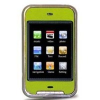 Jual 4GB TOUCH SCREEN PERSONAL MEDIA PLAYER ( GREEN)