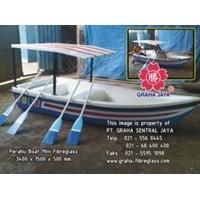 Perahu Dayung Fibreglass