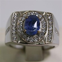 Natural Blue Sapphire 2.21 ct Oval Modified Brilliant Blue Sri Lanka Heated