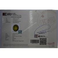 Distributor Cincin Permata Natural Idocrase 89.07 ct (dengan ring) Oval Cabochon Hijau Kekuningan No Treatment 3