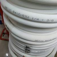 Pipa Ac Artic ukuran 3/8 + 3/4 Panjang 15 meter  untuk AC kapasitas (4 – 5 pk) 1