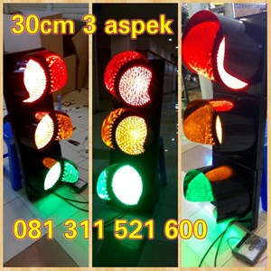 Traffic Light LED 30Cm 3 Aspek MKH