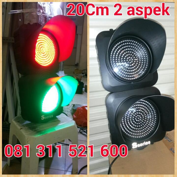 Jual Lampu Traffic Light 2 Aspek Shinyoku Harga Murah