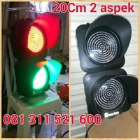 Lampu Traffic Light 2 Aspek Shinyoku 1