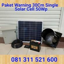 Lampu Jalan Paket Warning Light Single Solar Cell