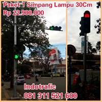 Jual Lampu Jalan PJU Traffic Light