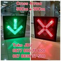 Lampu LED Cross Arrow 50cm