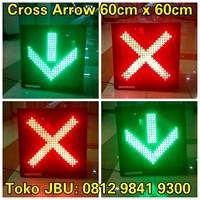 Lampu LED Cross Arrow 60cm