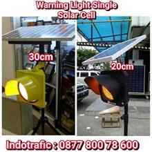 Lampu LED Warning Single Solar Cell
